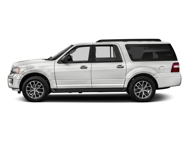 Oxford White 2017 Ford Expedition EL Pictures Expedition EL Utility 4D XLT 4WD V6 Turbo photos side view