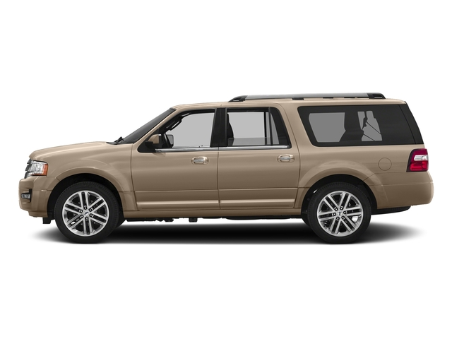 White Gold 2017 Ford Expedition EL Pictures Expedition EL Utility 4D Limited 4WD V6 Turbo photos side view