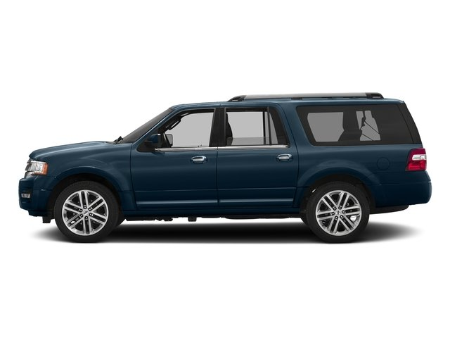 Blue Jeans 2017 Ford Expedition EL Pictures Expedition EL Utility 4D Limited 4WD V6 Turbo photos side view
