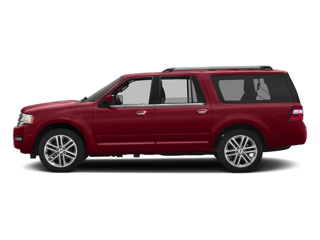 Ruby Red Metallic Tinted Clearcoat 2017 Ford Expedition EL Pictures Expedition EL Utility 4D Limited 2WD V6 Turbo photos side view