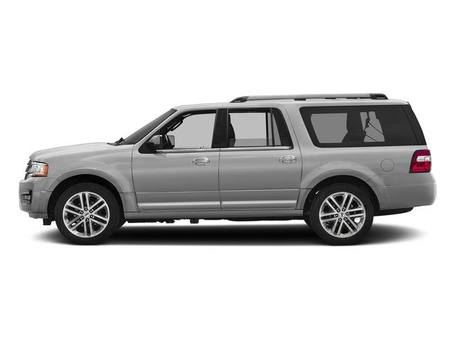 Ingot Silver 2017 Ford Expedition EL Pictures Expedition EL Utility 4D Limited 4WD V6 Turbo photos side view