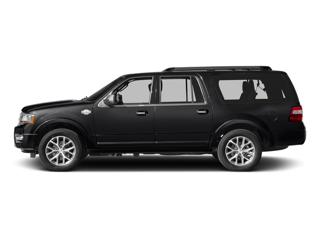 Shadow Black 2017 Ford Expedition EL Pictures Expedition EL Utility 4D King Ranch 4WD V6 Turbo photos side view
