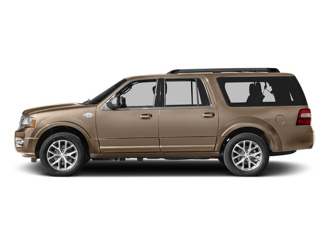White Gold 2017 Ford Expedition EL Pictures Expedition EL Utility 4D King Ranch 4WD V6 Turbo photos side view
