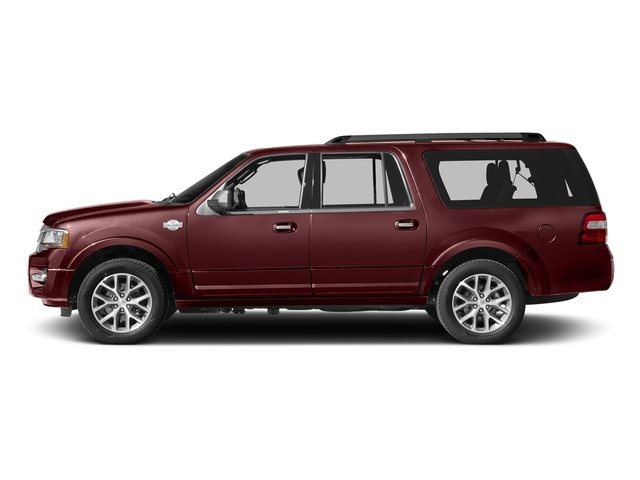 Bronze Fire 2017 Ford Expedition EL Pictures Expedition EL Utility 4D King Ranch 4WD V6 Turbo photos side view