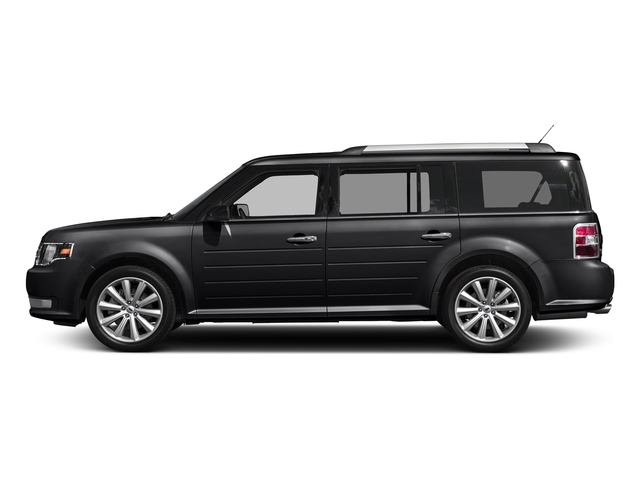 Shadow Black 2017 Ford Flex Pictures Flex Wagon 4D Limited AWD photos side view
