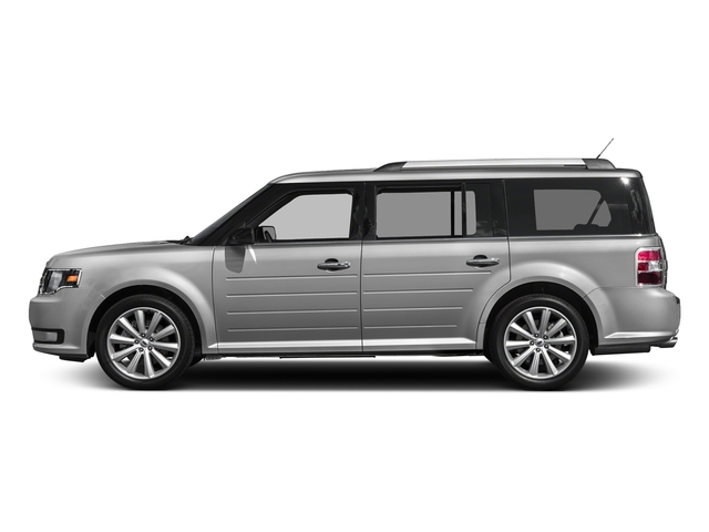 Ingot Silver Metallic 2017 Ford Flex Pictures Flex Wagon 4D Limited AWD photos side view