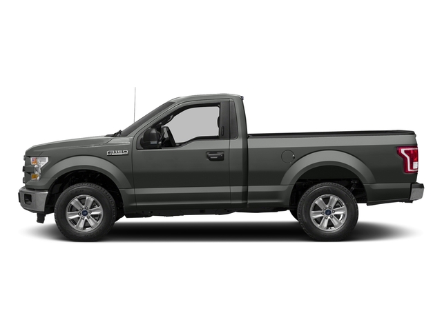 Magnetic Metallic 2017 Ford F-150 Pictures F-150 Regular Cab XLT 4WD photos side view
