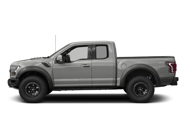 Avalanche 2017 Ford F-150 Pictures F-150 SuperCab Raptor 4WD photos side view