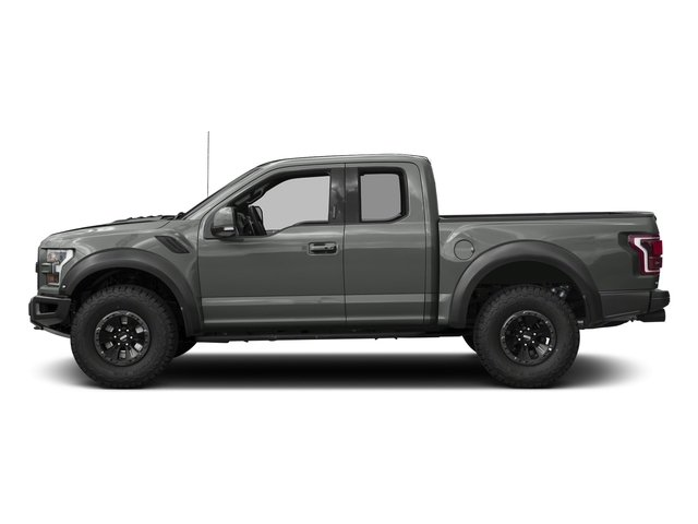 Magnetic Metallic 2017 Ford F-150 Pictures F-150 SuperCab Raptor 4WD photos side view