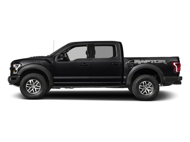 Shadow Black 2017 Ford F-150 Pictures F-150 Crew Cab Raptor 4WD photos side view