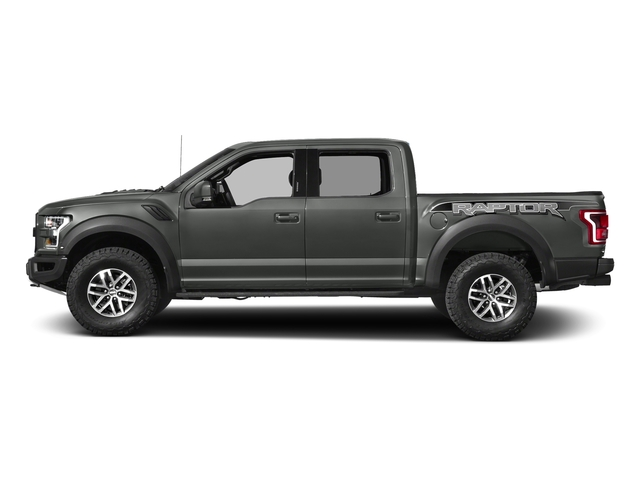 Magnetic Metallic 2017 Ford F-150 Pictures F-150 Crew Cab Raptor 4WD photos side view