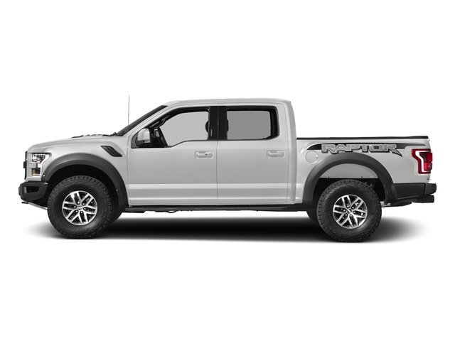 Oxford White 2017 Ford F-150 Pictures F-150 Crew Cab Raptor 4WD photos side view