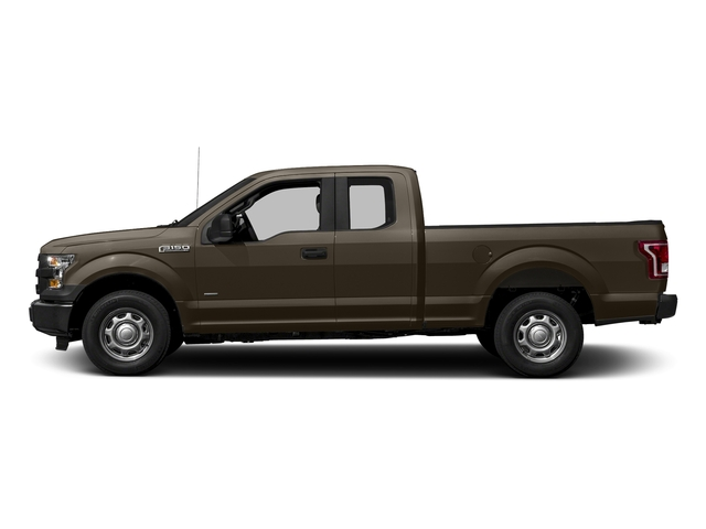 Caribou Metallic 2017 Ford F-150 Pictures F-150 Supercab XL 4WD photos side view