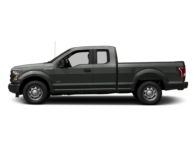 Magnetic Metallic 2017 Ford F-150 Pictures F-150 Supercab XL 4WD photos side view