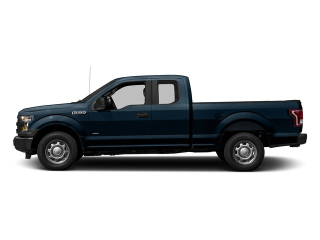Blue Jeans Metallic 2017 Ford F-150 Pictures F-150 Supercab XL 4WD photos side view
