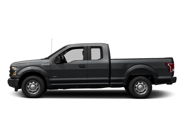 Lithium Gray 2017 Ford F-150 Pictures F-150 Supercab XL 4WD photos side view