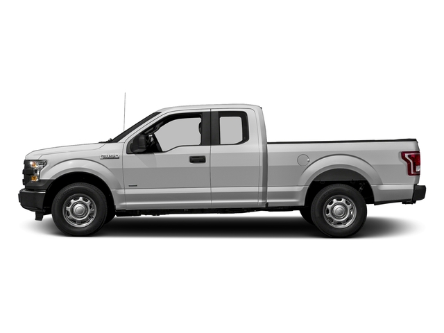 Ingot Silver Metallic 2017 Ford F-150 Pictures F-150 Supercab XL 4WD photos side view