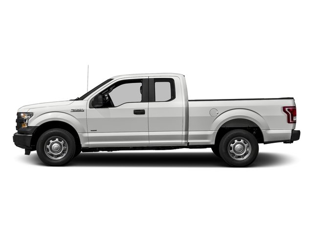 Oxford White 2017 Ford F-150 Pictures F-150 Supercab XL 4WD photos side view