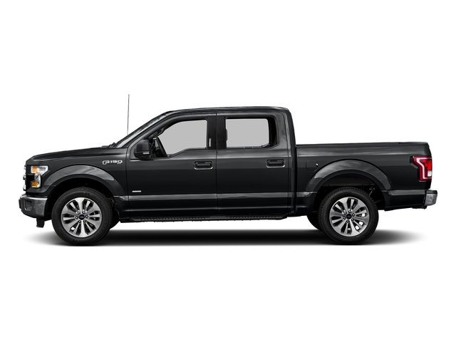 Lithium Gray 2017 Ford F-150 Pictures F-150 Crew Cab XLT 2WD photos side view