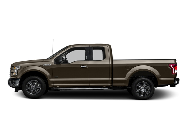 Caribou Metallic 2017 Ford F-150 Pictures F-150 Supercab XLT 4WD photos side view