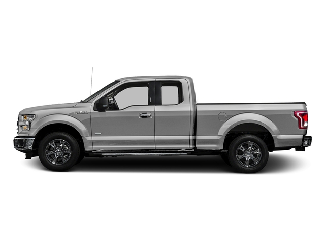 Ingot Silver Metallic 2017 Ford F-150 Pictures F-150 Supercab XLT 4WD photos side view