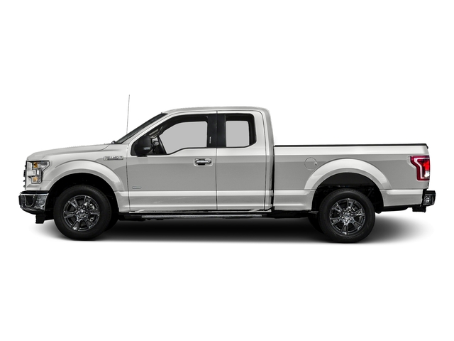 Oxford White 2017 Ford F-150 Pictures F-150 Supercab XLT 4WD photos side view