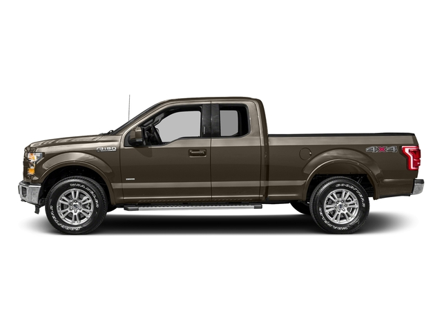 Caribou Metallic 2017 Ford F-150 Pictures F-150 Supercab Lariat 2WD photos side view