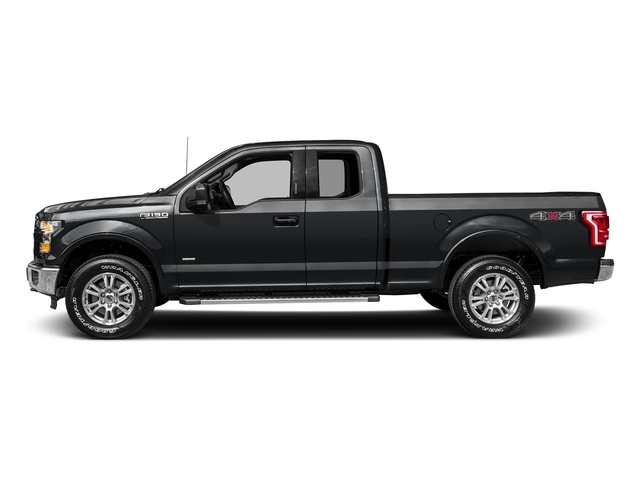 Lithium Gray 2017 Ford F-150 Pictures F-150 Supercab Lariat 2WD photos side view