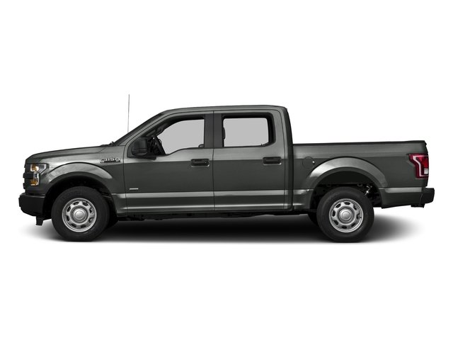Magnetic Metallic 2017 Ford F-150 Pictures F-150 Crew Cab XL 2WD photos side view