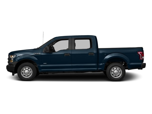 Blue Jeans Metallic 2017 Ford F-150 Pictures F-150 Crew Cab XL 2WD photos side view