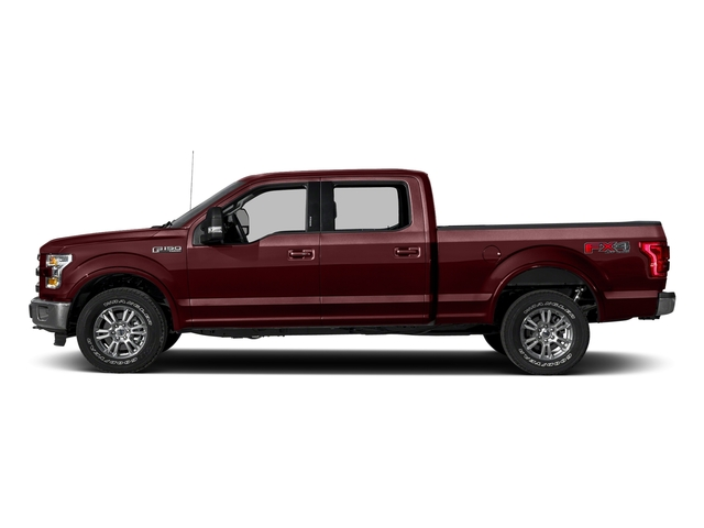 Bronze Fire Metallic 2017 Ford F-150 Pictures F-150 Crew Cab Lariat 4WD photos side view