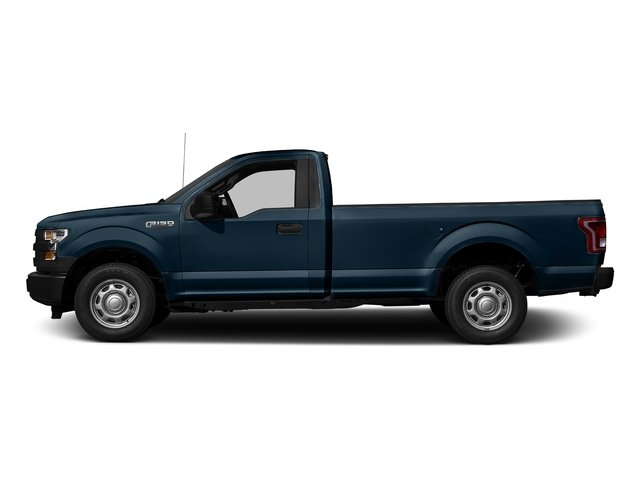 Blue Jeans Metallic 2017 Ford F-150 Pictures F-150 Regular Cab XL 4WD photos side view