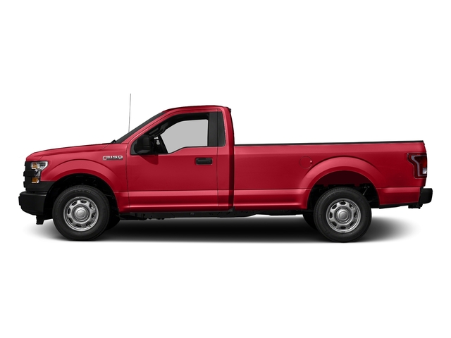 Race Red 2017 Ford F-150 Pictures F-150 Regular Cab XL 4WD photos side view