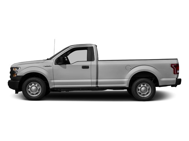 Ingot Silver Metallic 2017 Ford F-150 Pictures F-150 Regular Cab XL 4WD photos side view