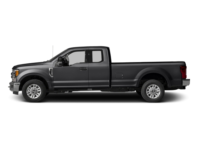 Shadow Black 2017 Ford Super Duty F-350 SRW Pictures Super Duty F-350 SRW Supercab XLT 2WD photos side view