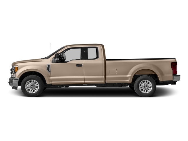 White Gold Metallic 2017 Ford Super Duty F-250 SRW Pictures Super Duty F-250 SRW Supercab XLT 2WD photos side view