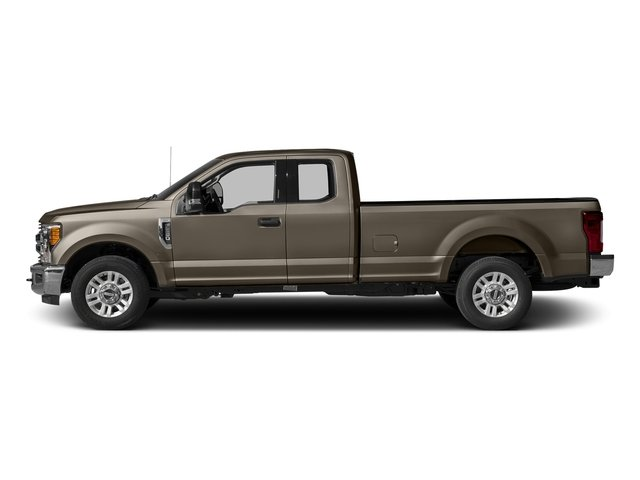 Caribou Metallic 2017 Ford Super Duty F-250 SRW Pictures Super Duty F-250 SRW Supercab XLT 2WD photos side view