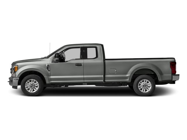 Magnetic Metallic 2017 Ford Super Duty F-350 SRW Pictures Super Duty F-350 SRW Supercab XLT 2WD photos side view