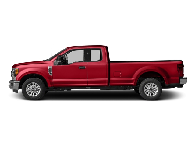 Race Red 2017 Ford Super Duty F-250 SRW Pictures Super Duty F-250 SRW Supercab XLT 2WD photos side view