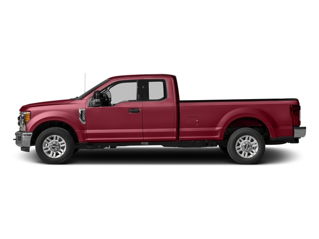 Ruby Red Metallic Tinted Clearcoat 2017 Ford Super Duty F-250 SRW Pictures Super Duty F-250 SRW Supercab XLT 2WD photos side view