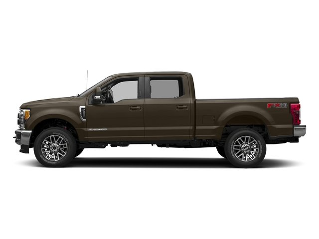 Caribou Metallic 2017 Ford Super Duty F-250 SRW Pictures Super Duty F-250 SRW Crew Cab Lariat 4WD photos side view