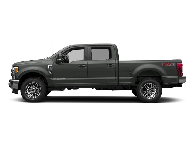 Magnetic Metallic 2017 Ford Super Duty F-250 SRW Pictures Super Duty F-250 SRW Crew Cab Lariat 4WD photos side view