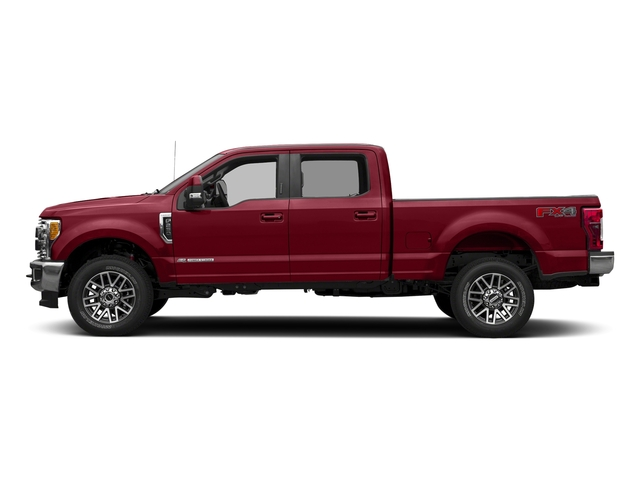 Ruby Red Metallic Tinted Clearcoat 2017 Ford Super Duty F-250 SRW Pictures Super Duty F-250 SRW Crew Cab Lariat 4WD photos side view