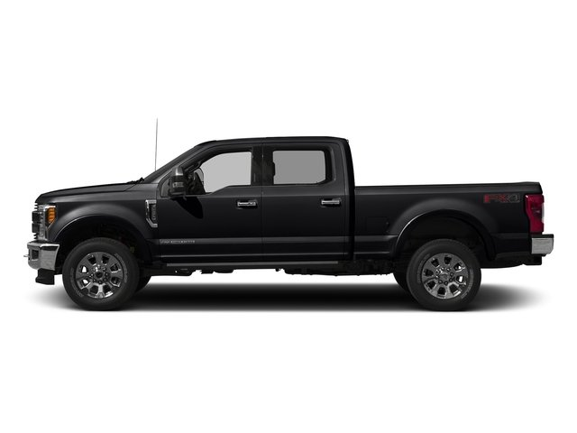Shadow Black 2017 Ford Super Duty F-250 SRW Pictures Super Duty F-250 SRW Crew Cab King Ranch 4WD photos side view