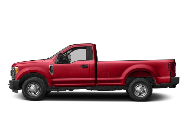 Race Red 2017 Ford Super Duty F-250 SRW Pictures Super Duty F-250 SRW Regular Cab XL 2WD photos side view