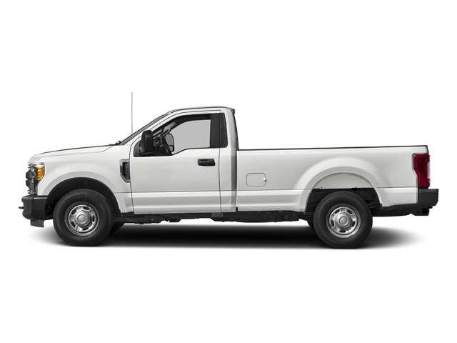 Oxford White 2017 Ford Super Duty F-250 SRW Pictures Super Duty F-250 SRW Regular Cab XL 2WD photos side view
