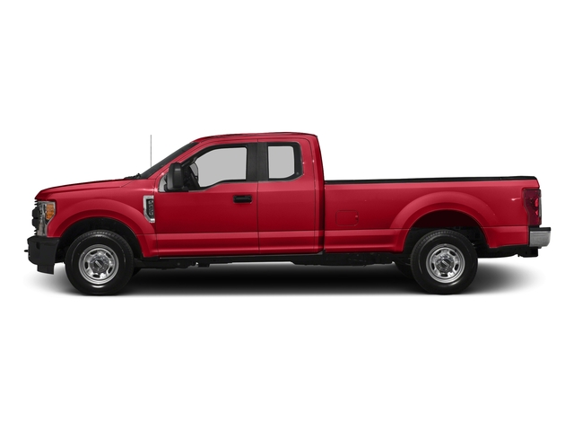 Race Red 2017 Ford Super Duty F-350 SRW Pictures Super Duty F-350 SRW Supercab XL 4WD photos side view