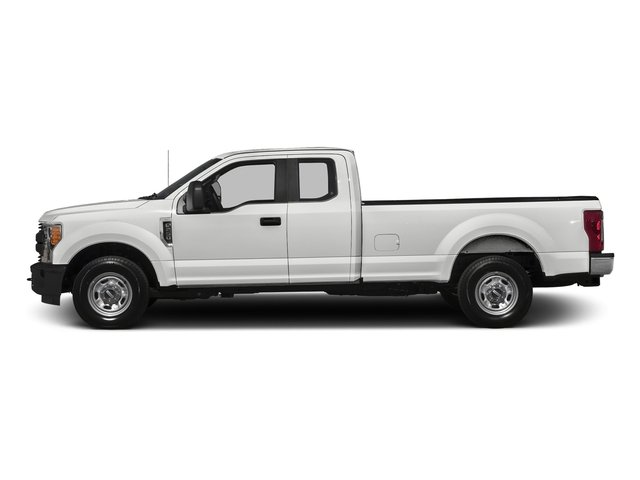Oxford White 2017 Ford Super Duty F-350 SRW Pictures Super Duty F-350 SRW Supercab XL 4WD photos side view