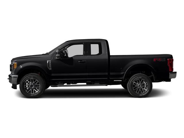 Shadow Black 2017 Ford Super Duty F-350 SRW Pictures Super Duty F-350 SRW Supercab Lariat 2WD photos side view