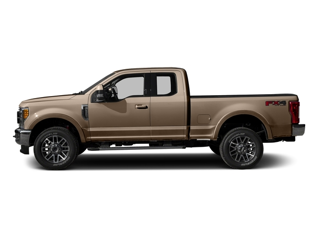 White Gold Metallic 2017 Ford Super Duty F-350 SRW Pictures Super Duty F-350 SRW Supercab Lariat 2WD photos side view